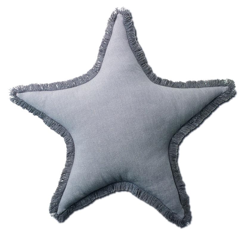 Sternekissen-grau