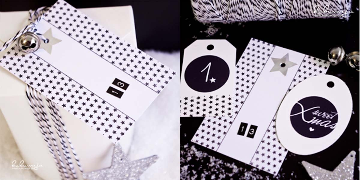Adventskalender-black-and-white