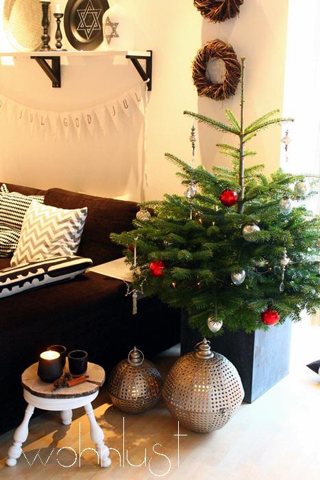 Weihnachtsbaum-Wohnlust
