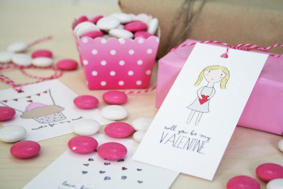 Titatoni-Valentinstag-Idee