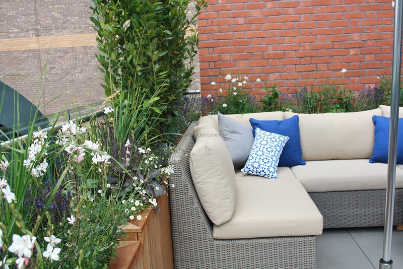 Blumenkaesten Terrasse Bauen Ideen