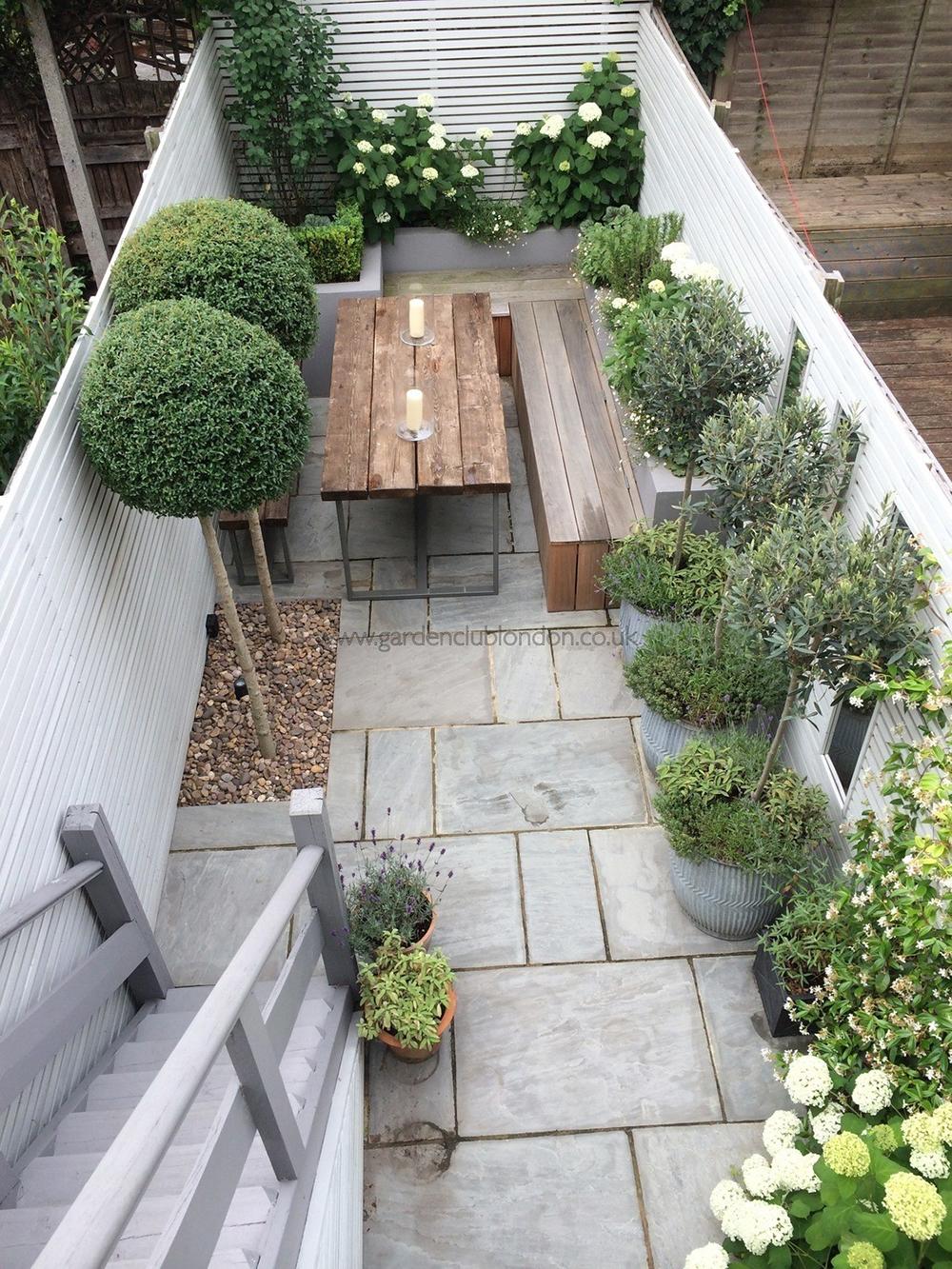 Traumhafte Ideen, wie ihr eure kleine Terrasse gestalten könnt ...