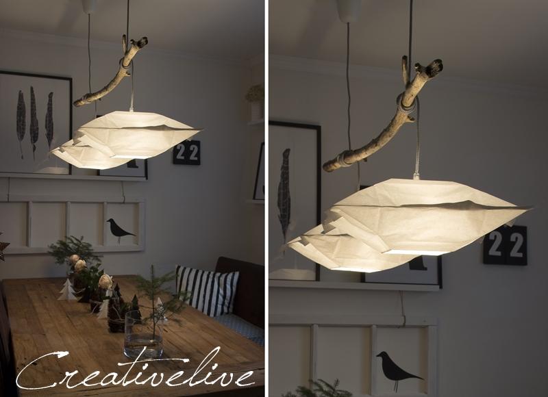 idee f r eine diy lampe mit treibholz wohnkonfetti. Black Bedroom Furniture Sets. Home Design Ideas