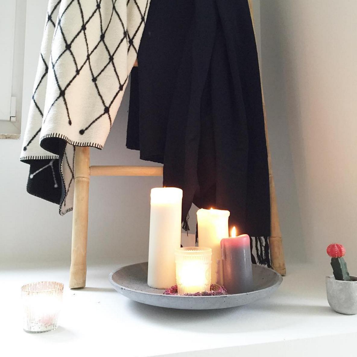 Deko-Kerzen-Schale-Ideen