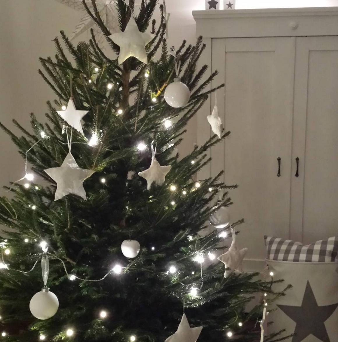 sch ne weihnachtsb ume von instagram wohnkonfetti. Black Bedroom Furniture Sets. Home Design Ideas