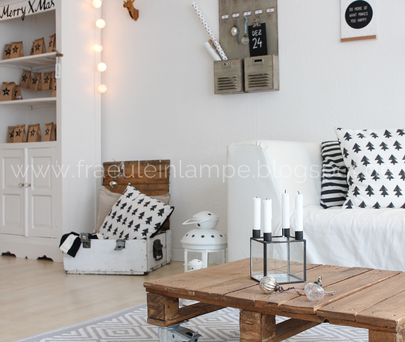 weihnachtsdeko im wohnzimmer so sieht es gerade bei einigen bloggern aus wohnkonfetti. Black Bedroom Furniture Sets. Home Design Ideas