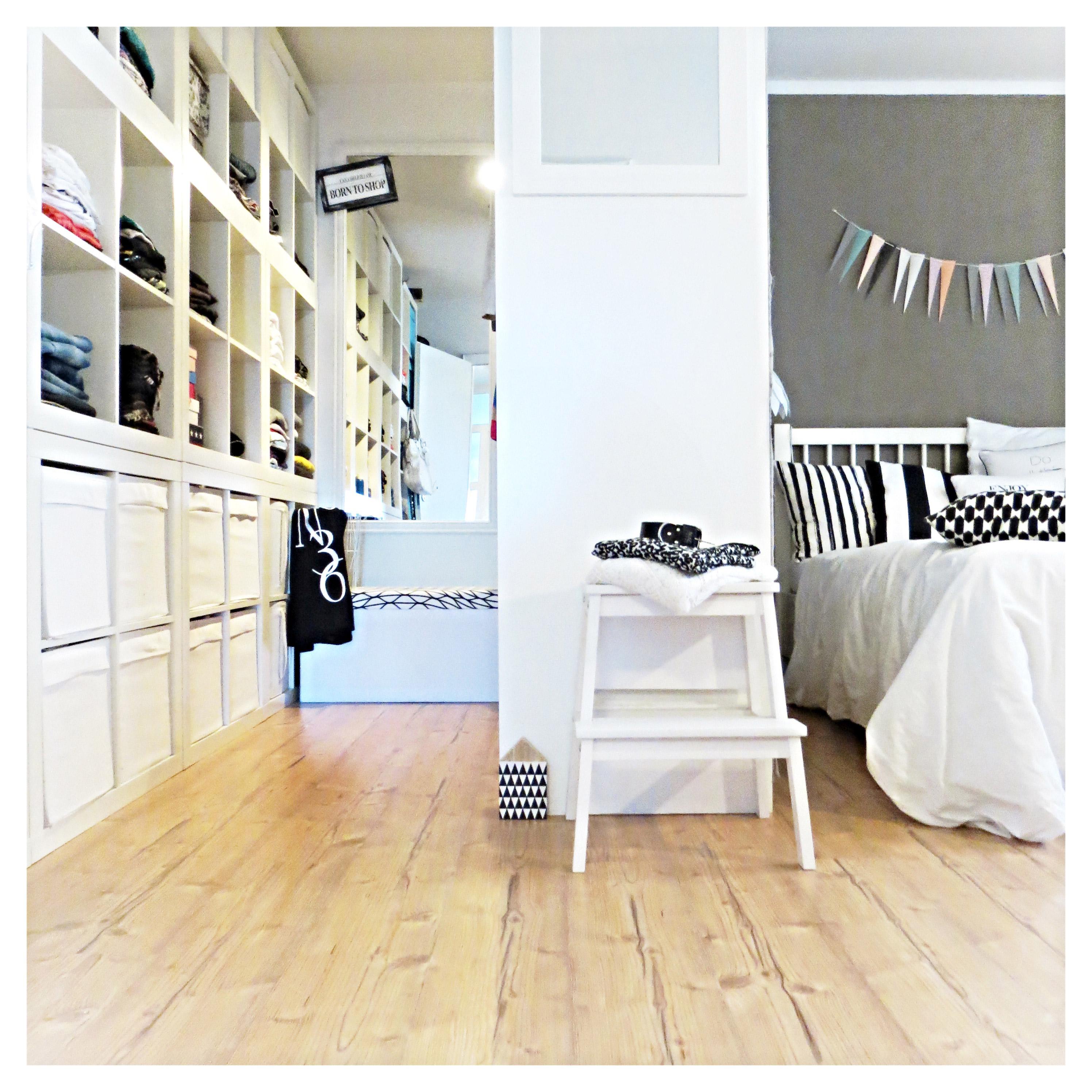 Schlafzimmer-offener-Kleiderschrank-ideen