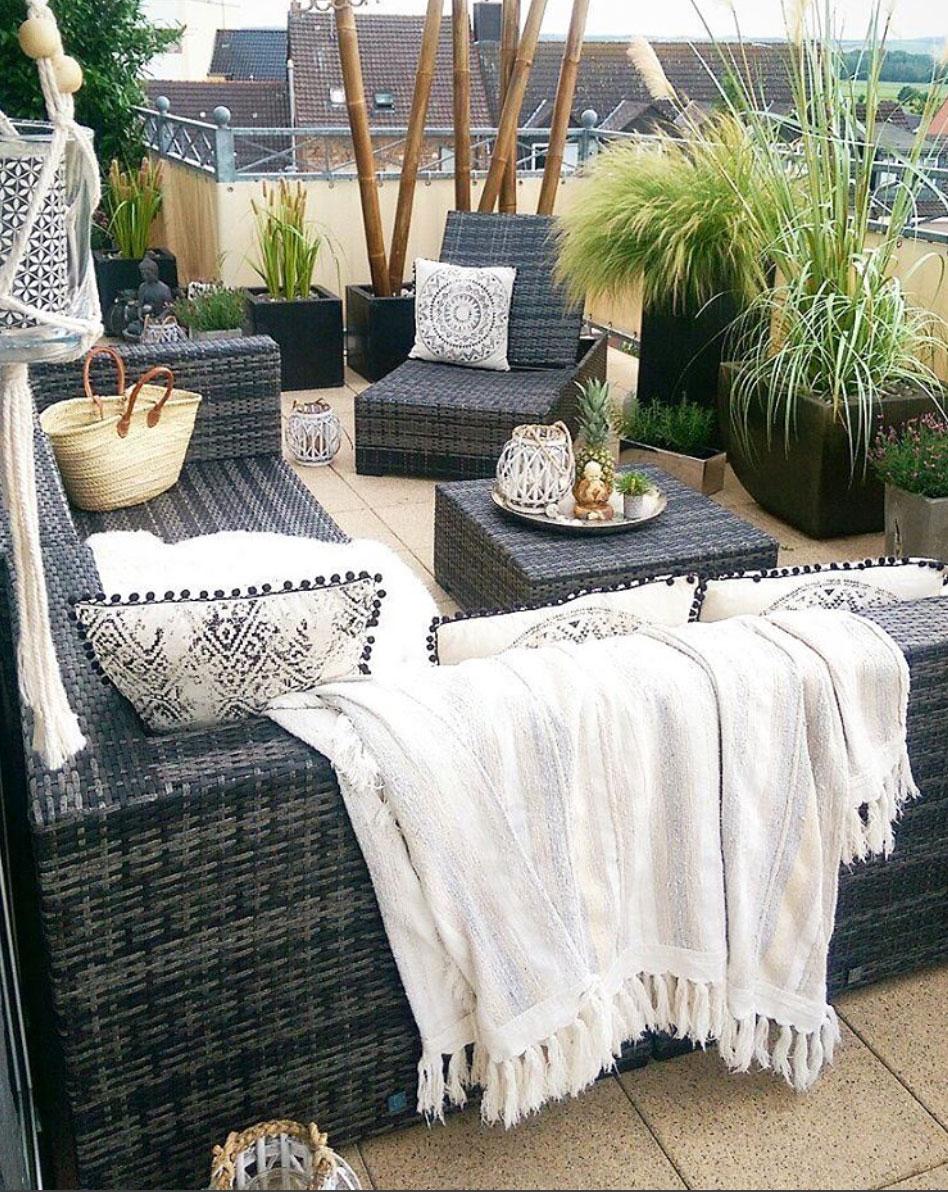 Terrasse-Bohemian-Style