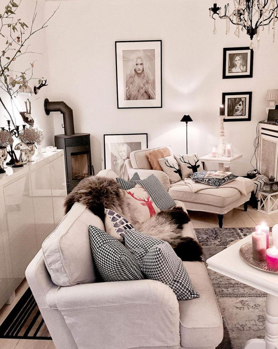 weihnachtliche-deko-im-wohnzimmer