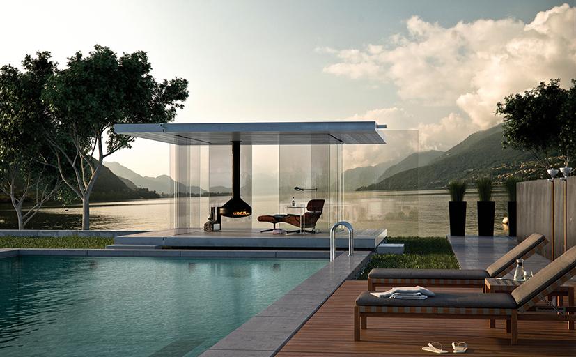 ein traum von glaspavillon den ihr unbedingt sehen m sst wohnkonfetti. Black Bedroom Furniture Sets. Home Design Ideas