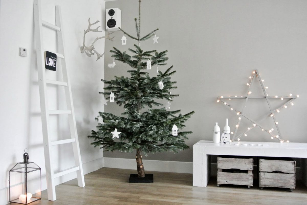 Wohnzimmer weihnachtlich dekorieren wohnkonfetti for Dekoration wand