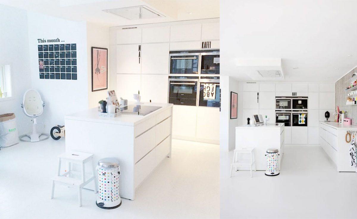 Küchen skandinavischen stil  Küche im skandinavischen Stil von Julie Hole - Wohnkonfetti
