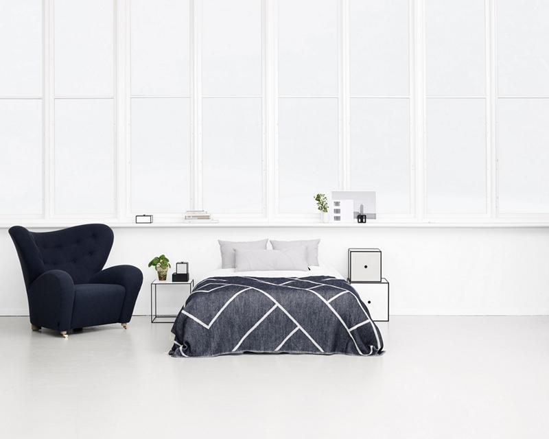 Minimalistische Schlafzimmer-Ideen in Schwarz-Weiß - Wohnkonfetti