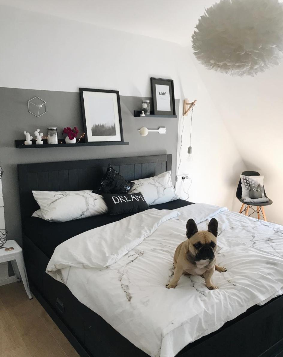 die sch nsten schlafzimmerideen auf einen blick wohnkonfetti. Black Bedroom Furniture Sets. Home Design Ideas