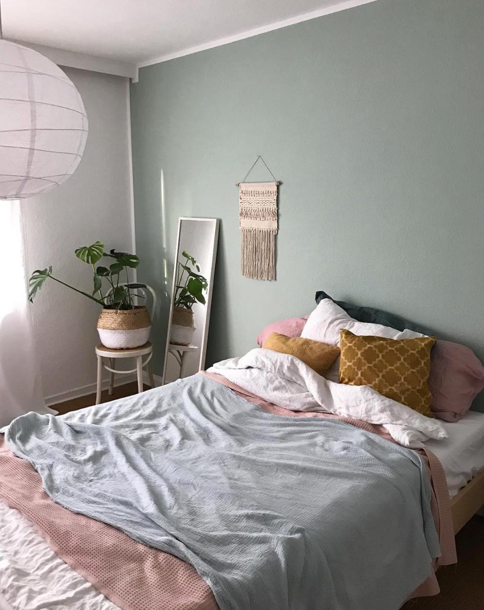 Schlafzimmer-wandfarbe-ideen - Wohnkonfetti