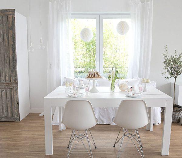 k che in zartem mintgr n und gr n wohnkonfetti. Black Bedroom Furniture Sets. Home Design Ideas
