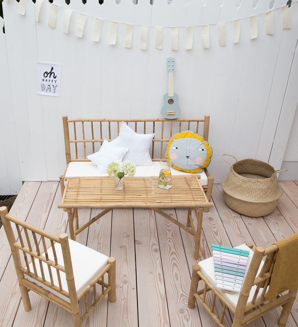 Bambusmöbel für Kinder – Urlaubsfeeling pur