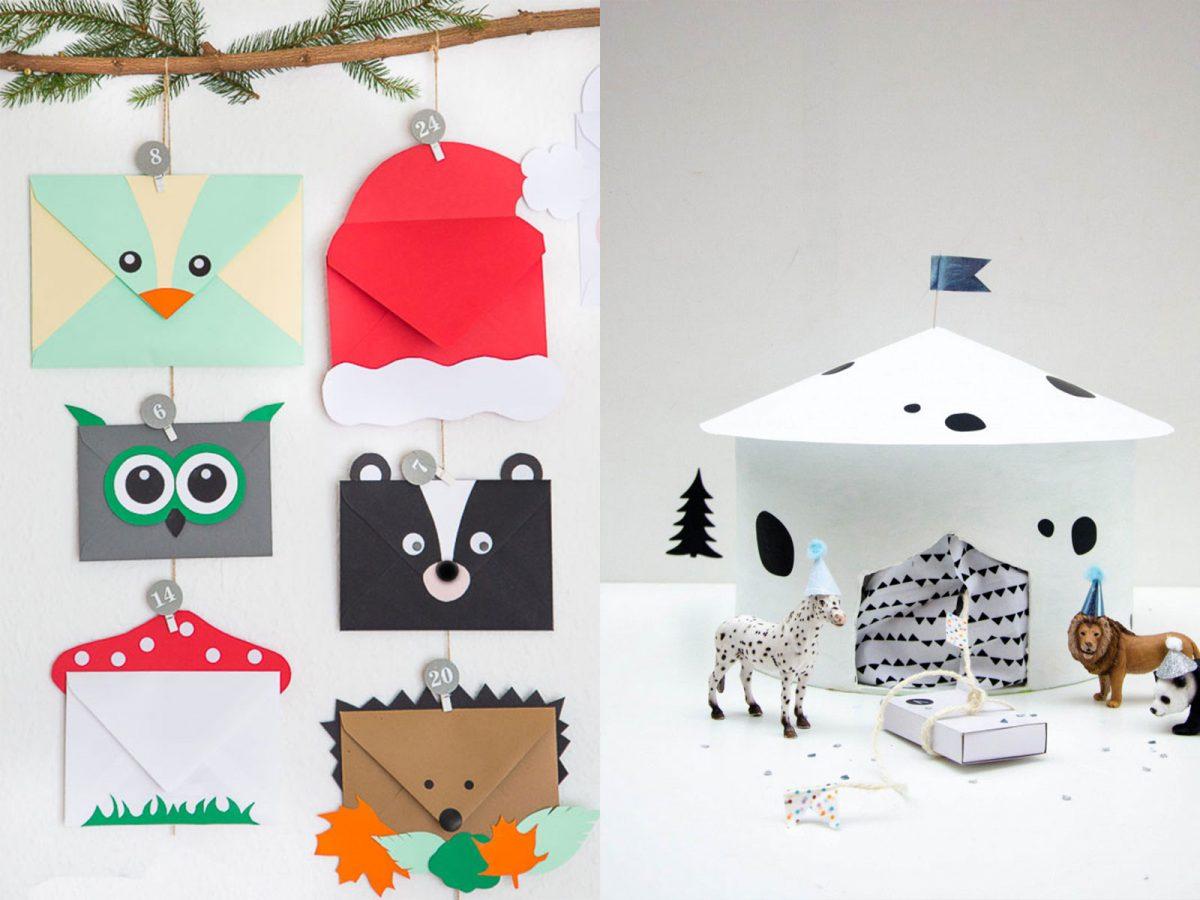 Schöne Adventskalender-Ideen für Kinder und womit ihr in füllen könnt