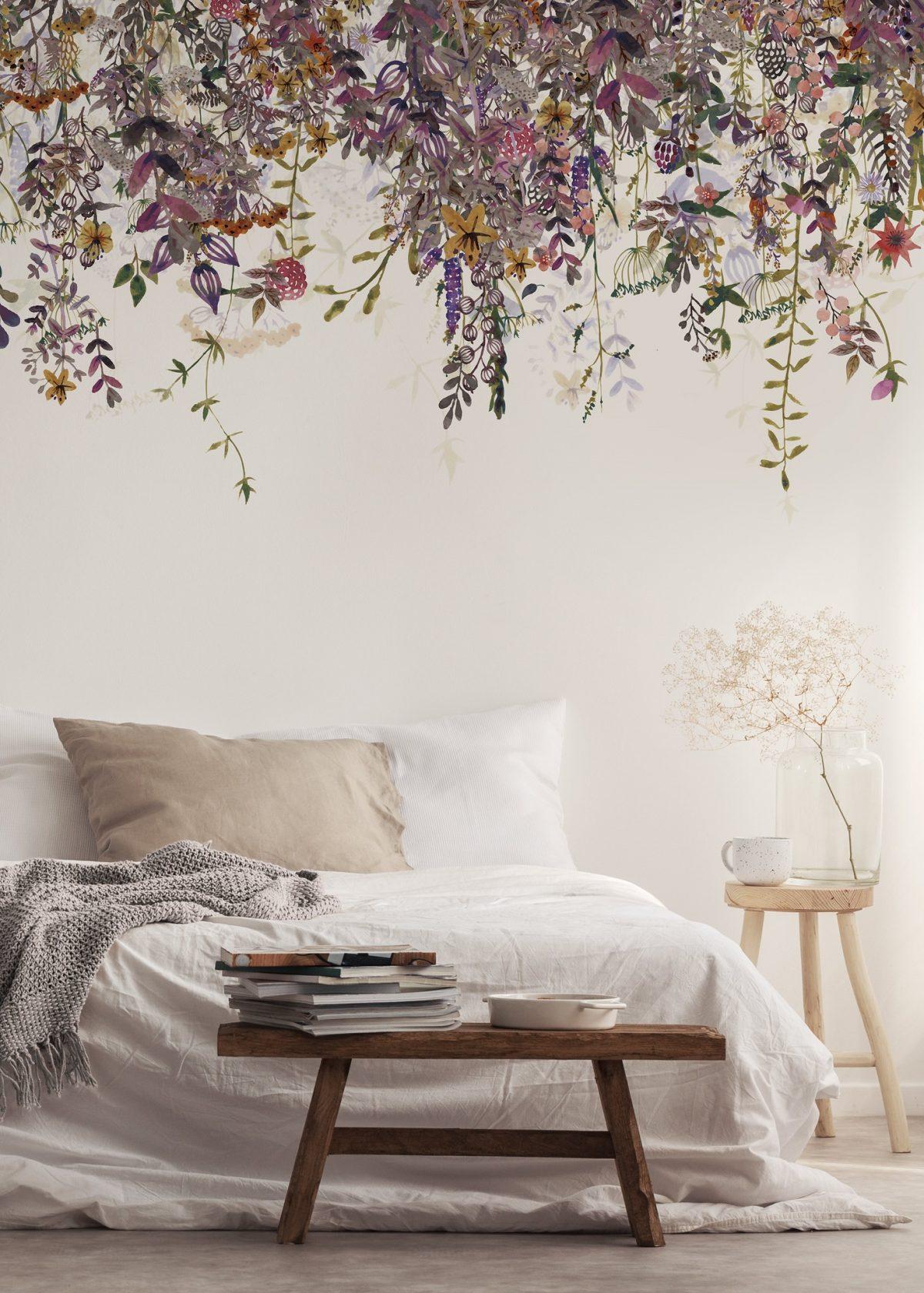 Eine Traumhafte Tapete Furs Schlafzimmer Wohnkonfetti