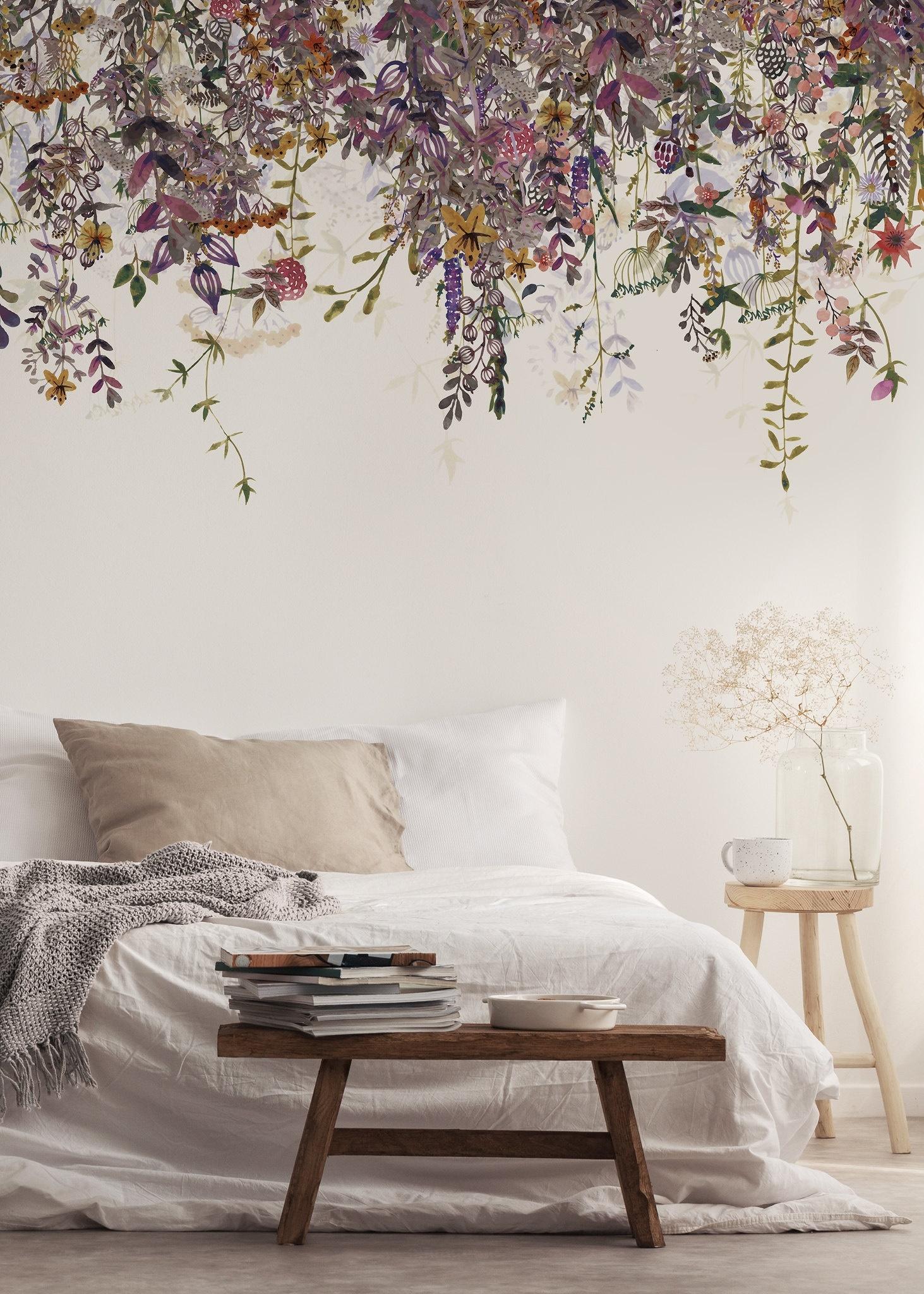 Eine traumhafte Tapete fürs Schlafzimmer Wohnkonfetti