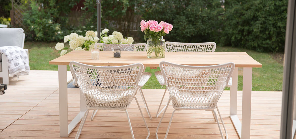 DIY Tisch für Draußen